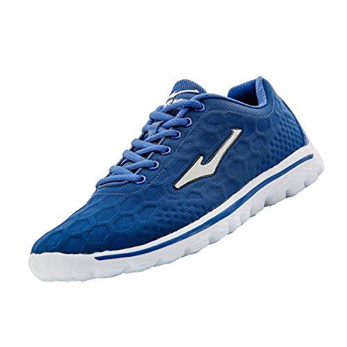 Erke da uomo scarpe in rete traspirante allenamento 51116203046, uomo, blu navy