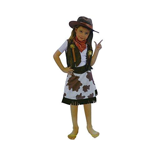 Disfraz de Vaquera Cowgirl (4 a 6) (COW-02)