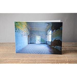 Foto Grußkarte Lost Place - Klappkarte mit Umschlag - Format C6