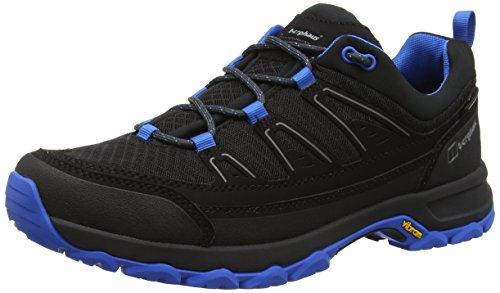 Berghaus Explorer Active Gtx Tech, Chaussures de Randonnée Basses Homme Multicolore (Black/bright Blue Z44)
