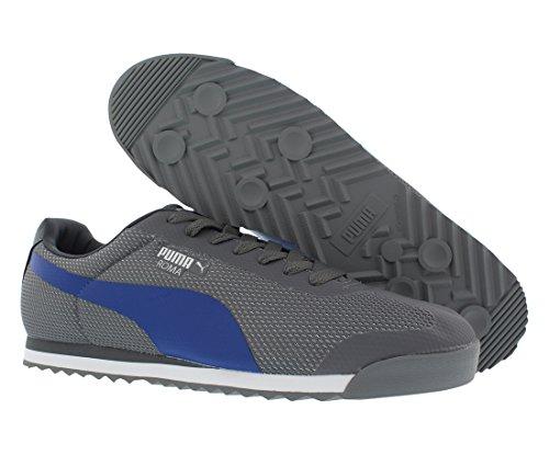Puma 360227 Roma Mesh Shoe Steel Gray/Limoges/Puma Silver
