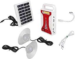 GoldSilver Güneş Enerjili Taşınabilir Solar Aydınlatma Seti