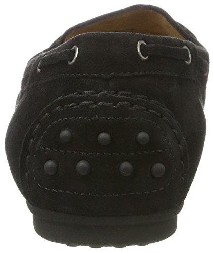 Gabor Shoes 64.201, Mocassini Donna Nero (Schwarz 17)