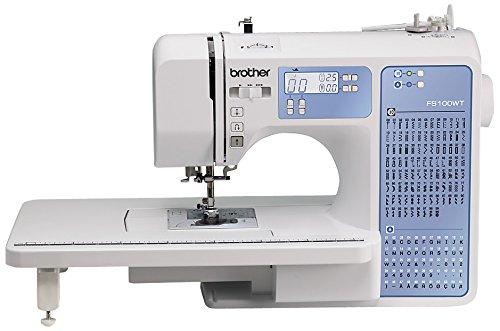 Machine à coudre BROTHER FS100WT avec table d'extension