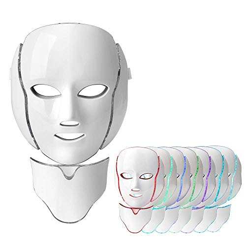 Premium Light Therapy Mask, 7 Co...