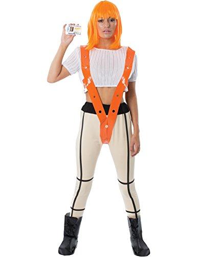 Meine Damen Fünfte Element Leeloo Wissenschaft Fiktion Cosplay Kostüm (Kostüme Wissenschaft)