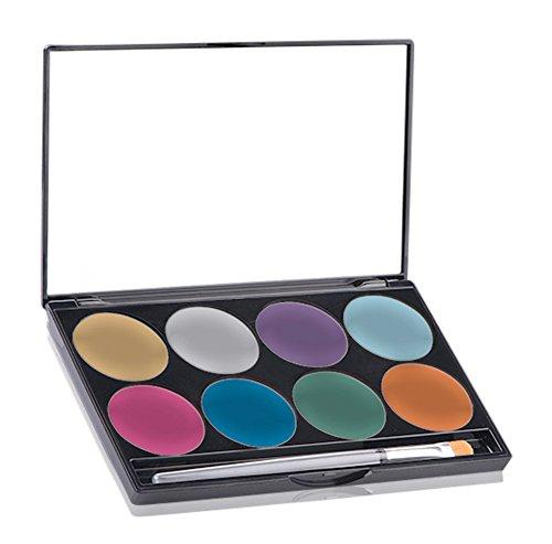liant AQ Lidschattenpalette mit 8 Farben (Paradise Make Up Aq)
