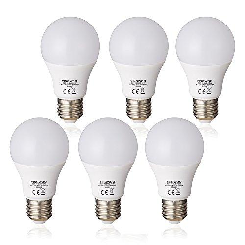 beleuchtung mit led - glühbirnen natürlichen licht 10w e27 a60 cool white 6000k / warm weisse 3000k, ac 220-240v von900 lumen 100w glühlampen glühbirne entspricht [energie - klasse a + +.