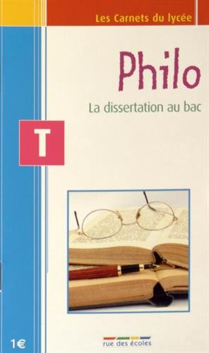 Philo Tle : La dissertation au bac