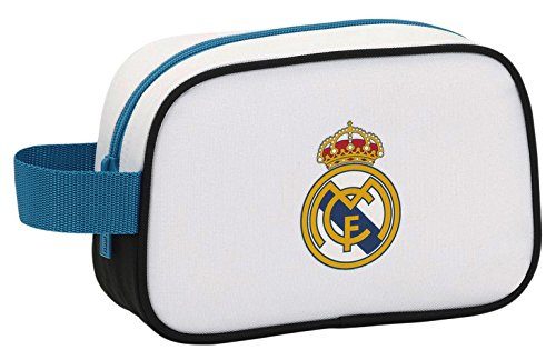 Real Madrid 811754234 – Neceser 22cm, Blanco