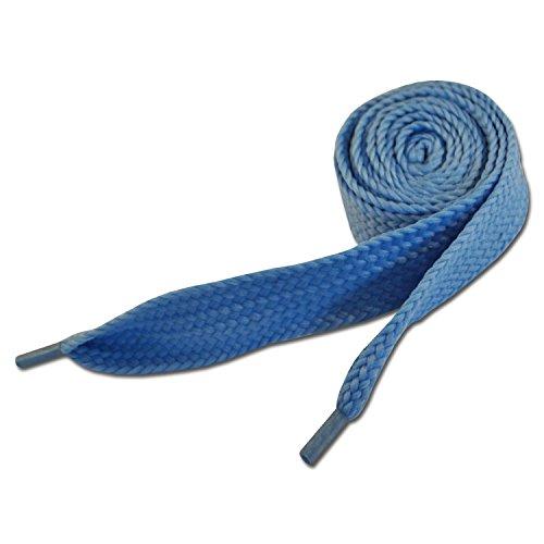 Baby blau Farbe Super-Fett Schnürsenkel 20mm x 120cm (Baby Blue Super Fat Shoelaces)