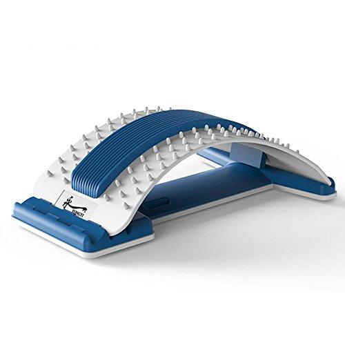 Magnetische Therapeutische Kissen (NACHEN Magnetisches Heizungs Massage Kissen Multifunktionales Kissen zervikale Schulter Taille, die Massager knetet, Blue)