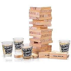Idea Regalo - Tobar- Gioco Drinking Tumble Tower, 20624