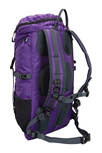 Mountain Warehouse Saker 35-Liter-Rucksack Violett