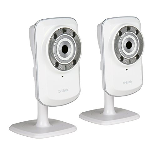 D-Link DCS-932L Set di 2 Videocamere di Sorveglianza...