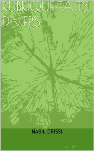 Téléchargement RUBRIQUE:FAITS DIVERS epub, pdf