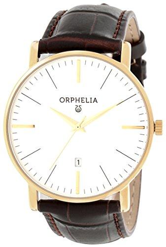 Orphelia - 61503 - Montre Homme - Quartz - Analogique - Bracelet cuir Marron