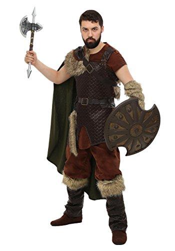 Adult Nordic Viking Fancy dress costume Medium