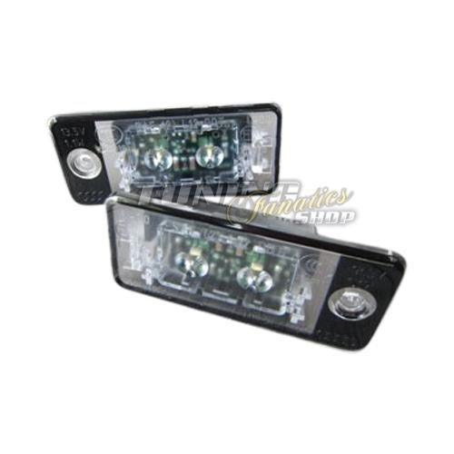 Preisvergleich Produktbild Original SMD LED Kennzeichenbeleuchtung Kennzeichen Leuchten 8P Birnen SET