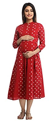 ANAYNA Women's Maternity Dress