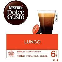 NESCAFÉ Dolce Gusto | Capsulas de Café Lungo | 3 de 16 cápsulas (Total 48 cápsulas)