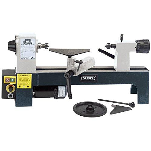 Draper 60988 250W 230V Variable Speed Mini Wood Lathe