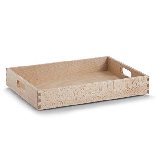 zeller-13307-multi-purpose-box-40-x-30-x-7-cm-beech-lacquered