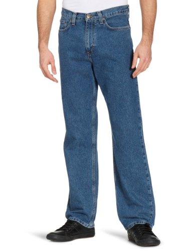 Eddie Bauer - 11107284, Jeans da uomo Blu (Stonewashed)