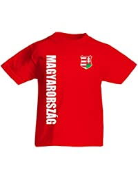 Ungarn Magyarorszag Kinder T-Shirt Trikot Wunschname Wunschnummer