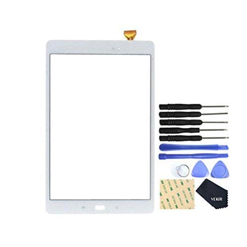 galaxy tab a display VEKIR Touch Reparatur Glasschirm für Samsung Galaxy Tab A 10.1 (2016) T580 T585 (weiß)