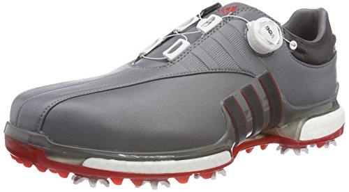 adidas Tour 360 BOA 2.0, Zapatillas de Golf para Hombre, Gris, 44 EU