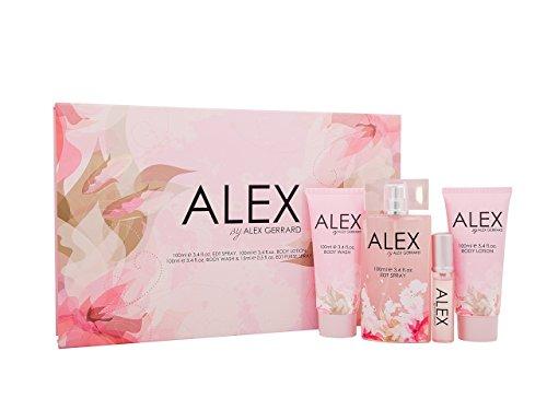 Alex Gerrard Eau de Toilette Body Wash/Lotion Gift Set For Her, 100 ml