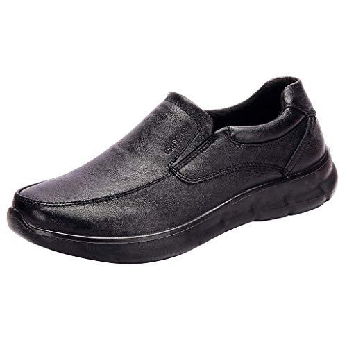 MISSQQUomo Mocassini Centesimo Casuale Guida Barca attività Commerciale Scarpe Eleganti Formale Pantofole Mocassino Passeggio Oxford