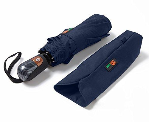 umenice automaitc de 9Rib Voyage parapluie coupe-vent avec 210T plastique Téflon S bleu