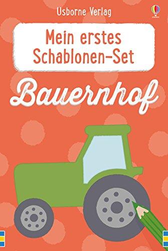 Mein erstes Schablonen-Set: Bauernhof (Kinder Schablonen Für)