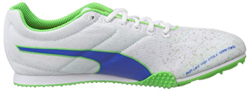 Puma TFX Star Jr v3 Damen Laufschuhe Weiß (01 white-strong blue-fluro green CO)