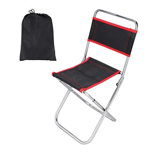 Sedia pieghevole da picnic in lega di alluminio sedia con schienale per pesca campeggio