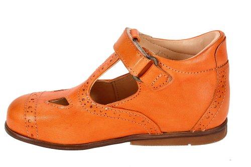 FENTY ORANGE Ocra Ballerina Lauflernschuhe pflanzlich gegerbt Orange