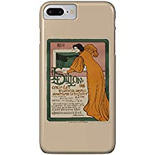 Le Sillon - 4me Exposition Vintage Poster (artist: Stevens) Belgium c. 1896 (iPhone 7 Plus Cell Phone Case, Slim Barely There)