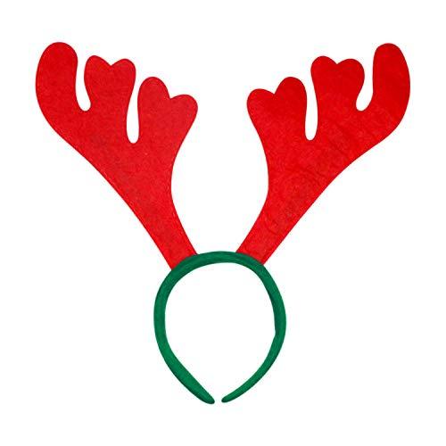 Htfrgeds Christmas Reindeer Antlers Diademas Niños