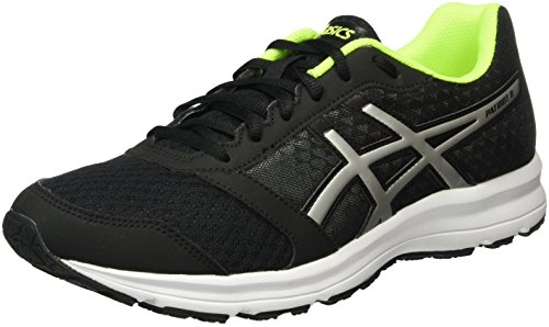 Asics Patriot 8, Zapatillas de Running para Hombre, Multicolor (Black/