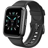 AIKELA Smartwatch, Orologio Fitness con Saturimetro (SpO2)/Misuratore Pressione/Cardiofrequenzimetro/Contapassi da Polso, Fit