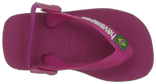 Havaianas Baby Brasil Logo, Scarpe Primi Passi Unisex Bimbi Rosa (Super Pink 2819)