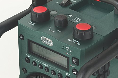 Metabo 602106000 RC 14.4-18 Akku-Baustellenradio, Schwarz, Grün