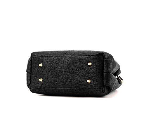 Damen Mode Wilde Handtasche Schultertasche Messenger Tasche Einfache Shell Tasche Handtaschen Grey