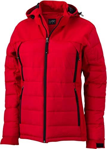 Ladies\' Outdoor Hybridjacket - Damen Thermojacke S,Red