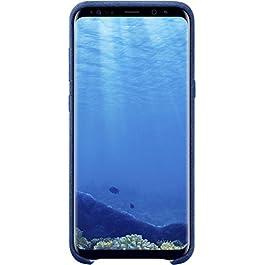 Samsung Alcantara, Copertina per Samsung S8 Plus, Blu (Blue)