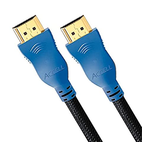 Accell ProUltra Supreme High Speed HDMI Cable with Ethernet - 4K UHD @60Hz, 10ft (3m) Braided Cable
