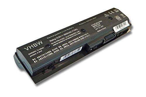 vhbw Akku 6600mAh Notebook Laptop HP Pavilion Envy dv7 dv4 dv6 m6 wie 671567-421 671567-831 671731-001 672326-421 H2L55AA HSTNN-LB3N HSTNN-LB3P MO06.