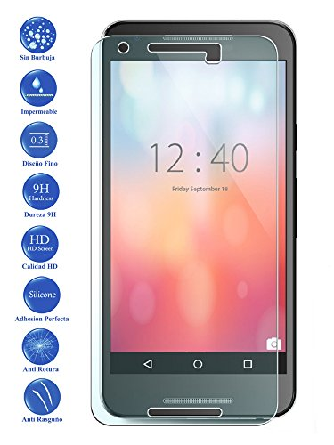 Protector de Pantalla Cristal Templado Vidrio para Google Nexus 5X 5 X